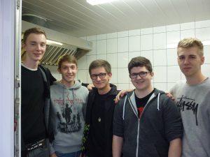 """Das """"5-Mann"""" Grill Team"""